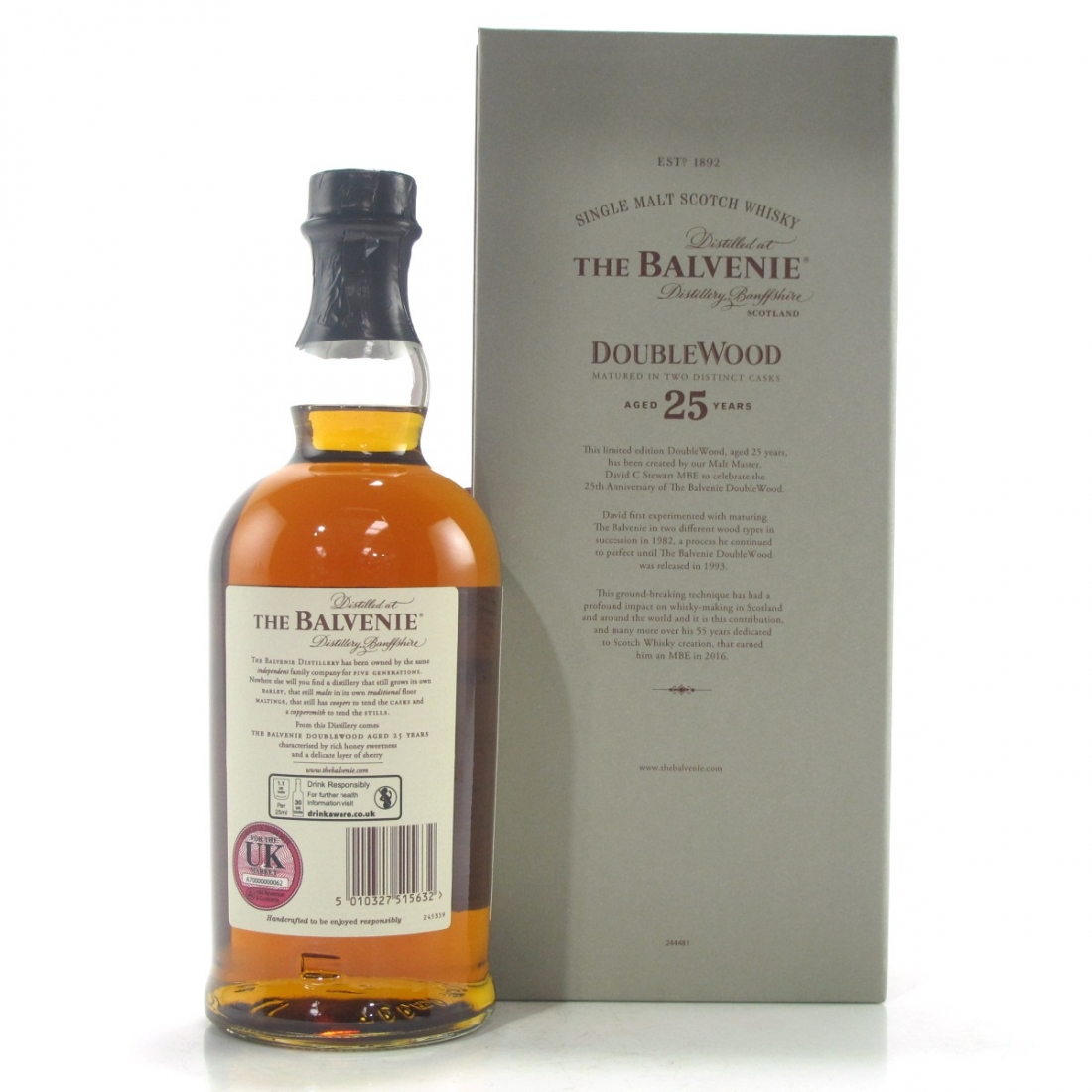 Balvenie 25 Year Old Double Wood
