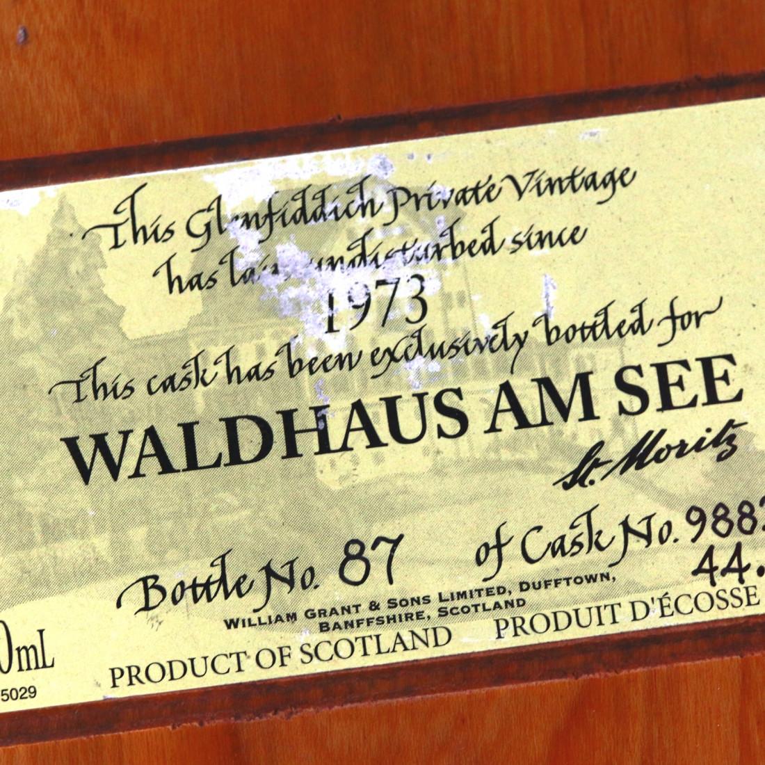 Glenfiddich 1973 Private Vintage #9883 / Waldhaus Am See