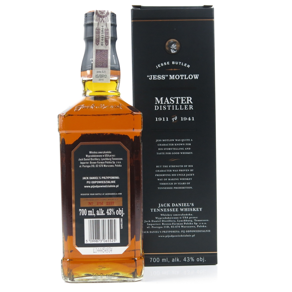 Jack Daniel's Master Distiller Batch #2 / Jess Motlow