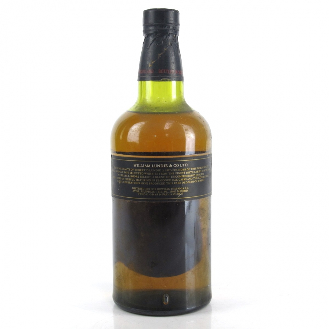 Lismore Select 8 Year Old Whisky