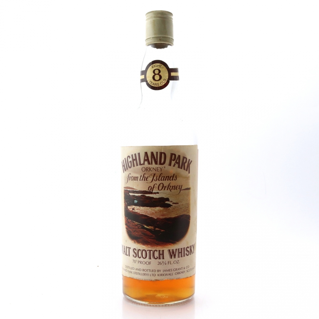 Highland Park 8 Year Old 1970s / Mario Rossi Jr. Import