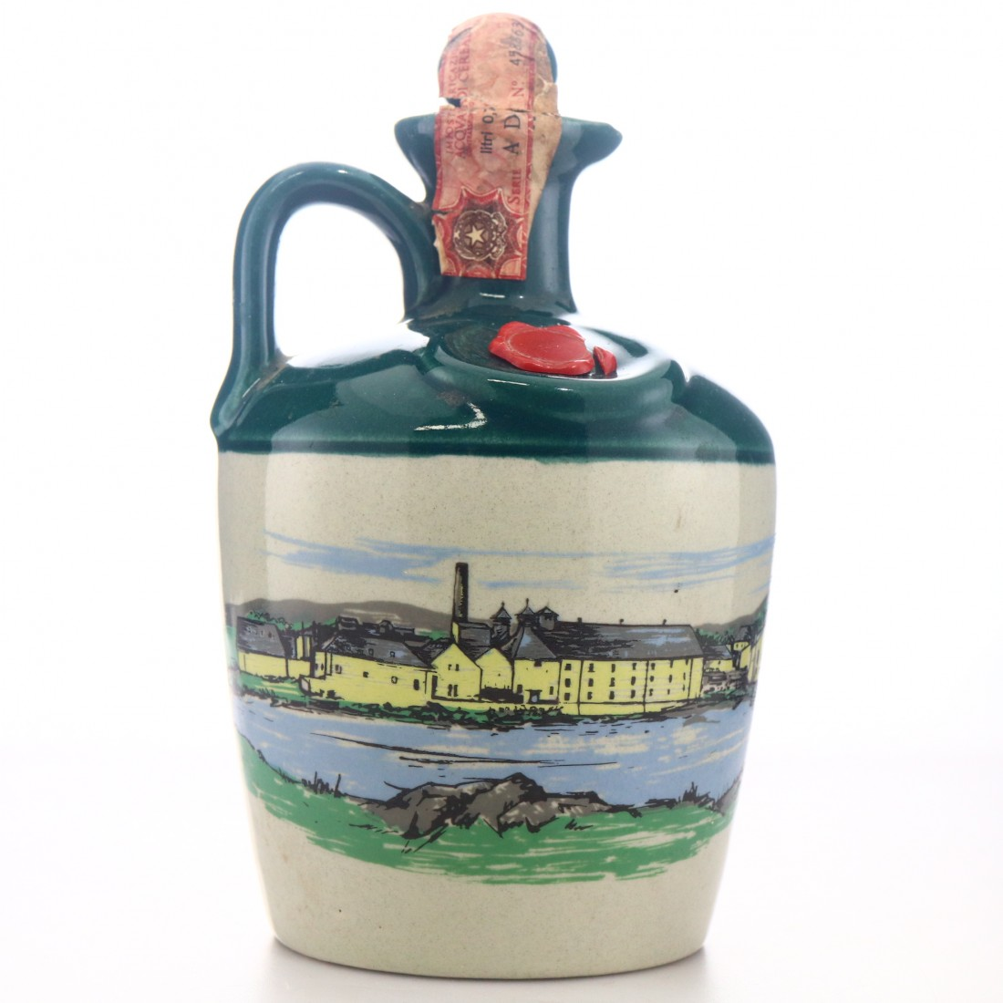 Laphroaig 12 Year Old Decanter 1980s / Bonfanti Import - Collection Only