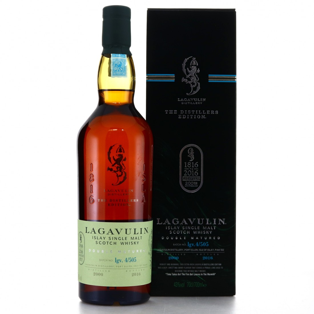Lagavulin 2000 Distillers Edition / Bicentenary Edition