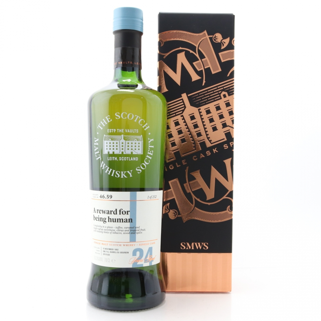 Glenlossie 1992 SMWS 24 Year Old 46.59