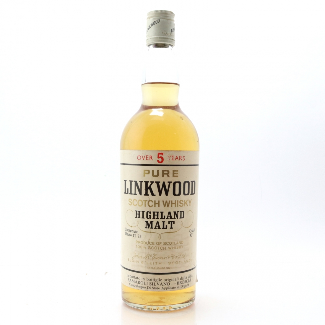 Linkwood 5 Year Old 1970s / Samaroli Import