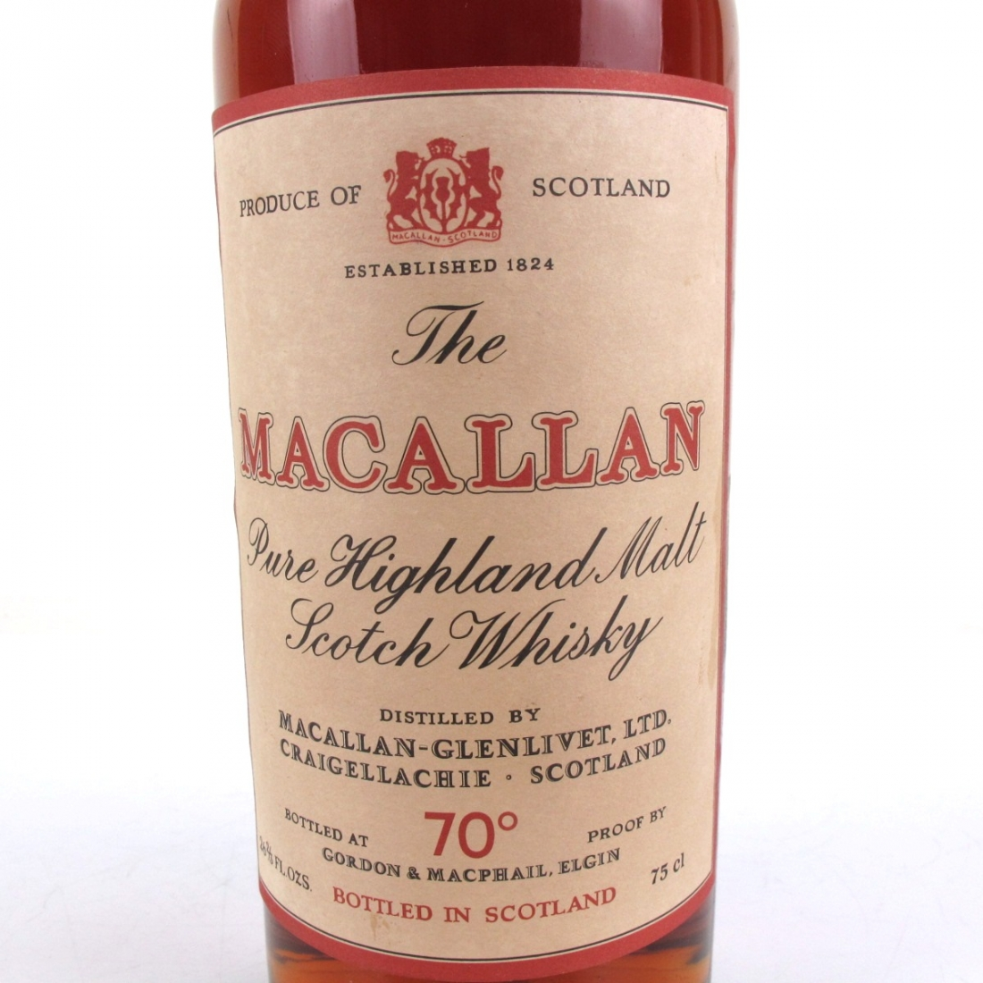 Macallan 1936 Gordon and MacPhail 1970s / Pinerolo Import