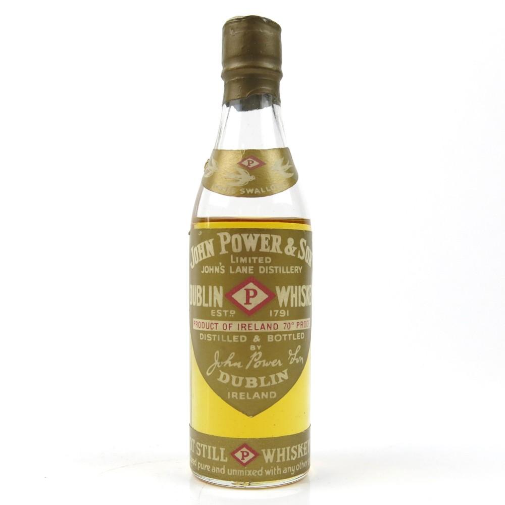 John Power & Son Gold Label Miniature 1960s