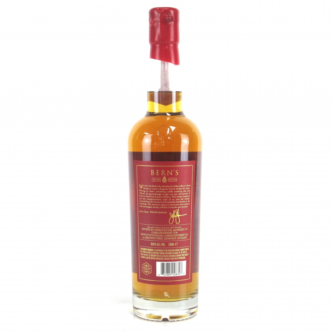 Compass Box Bern's 41 Year Old Blended Grain 75cl / US Import