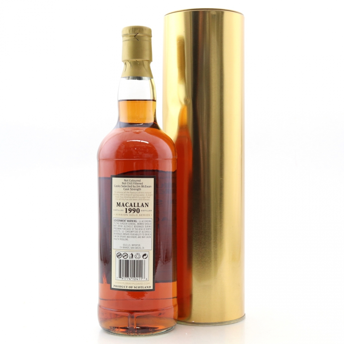 Macallan 1990 Murray McDavid 18 Year Old 75cl / US Import