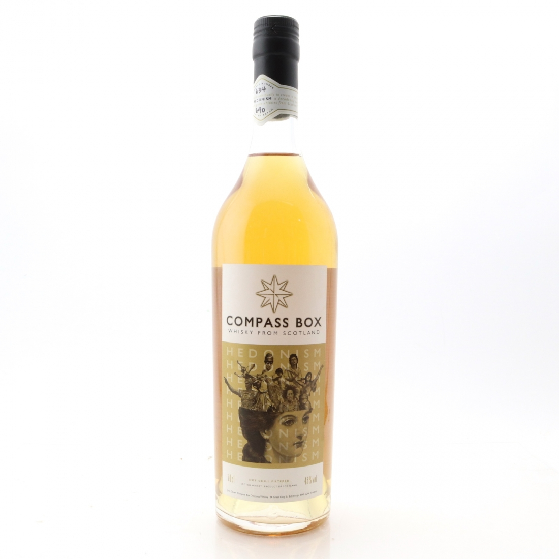 Compass Box Hedonism First Edition