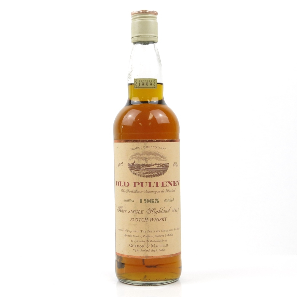 Old Pulteney 1965 Gordon and MacPhail