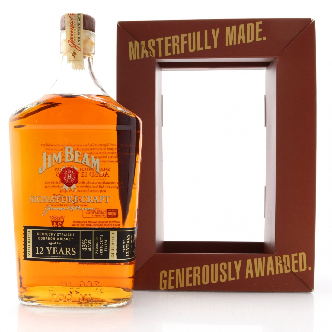 Jim Beam Signature Craft 12 Year Old
