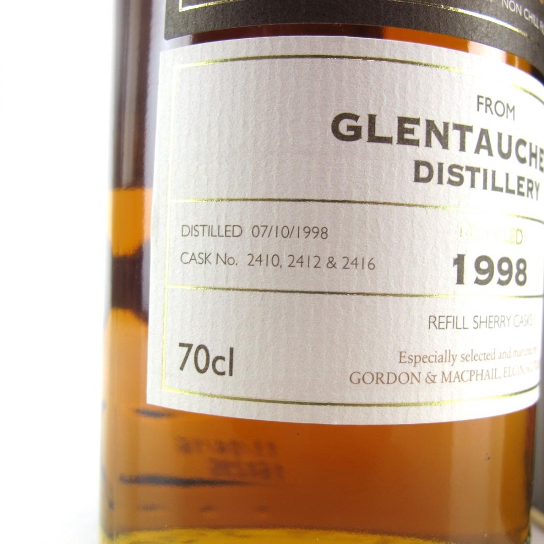 Glentauchers 1998 Gordon & MacPhail Cask Strength