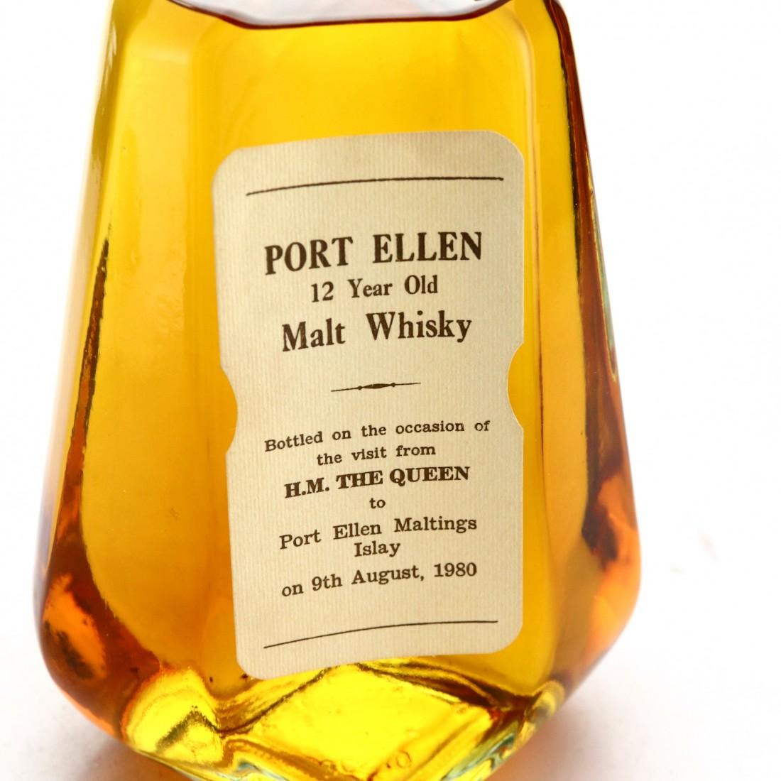 Port Ellen 12 Year Old Queen's Visit 1980