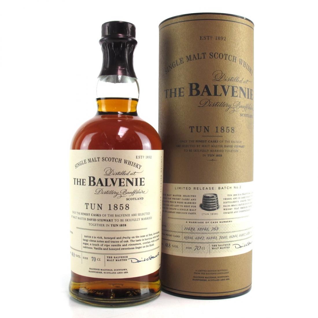 Balvenie Tun 1858 Batch #2
