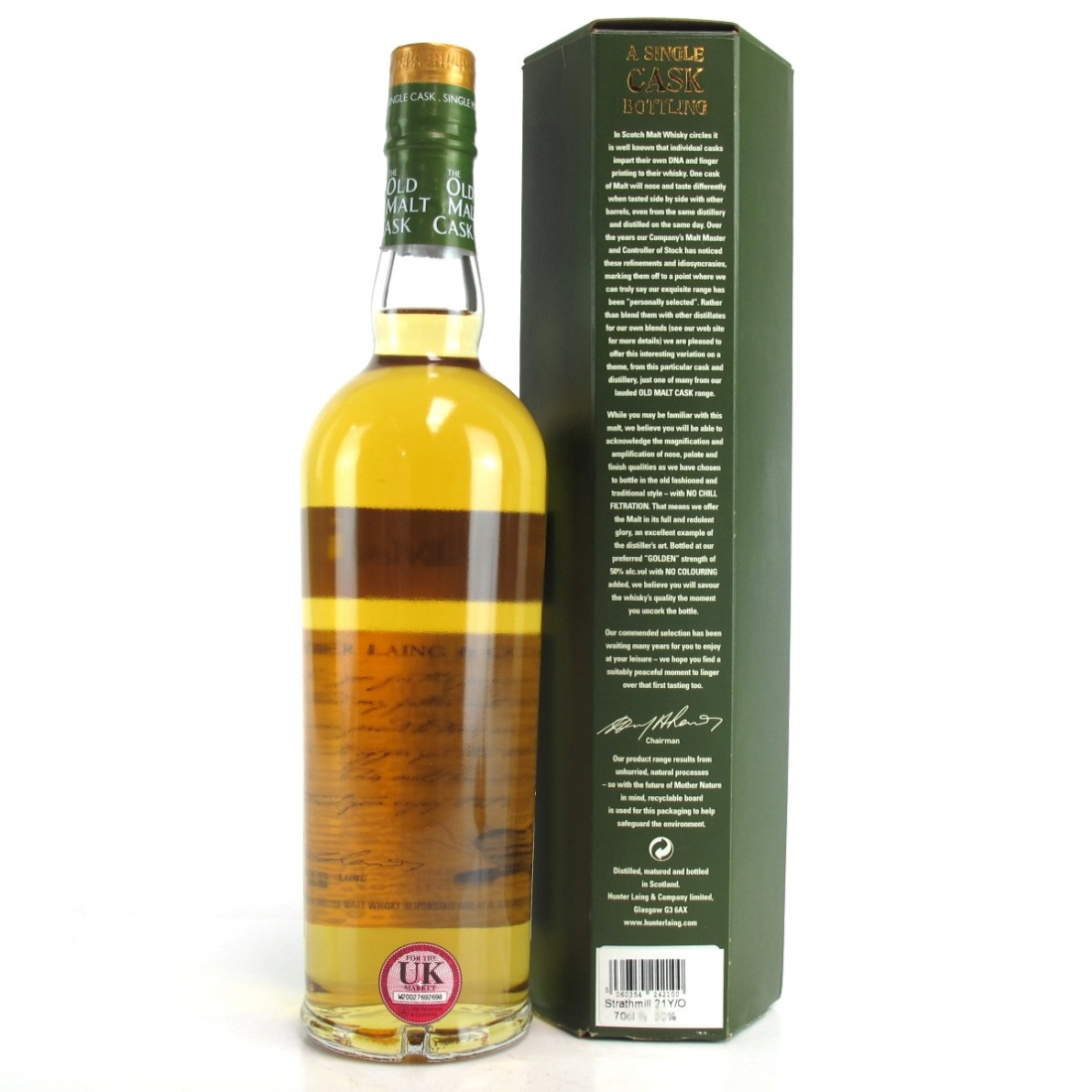 Strathmill 1991 Hunter Laing 21 Year Old