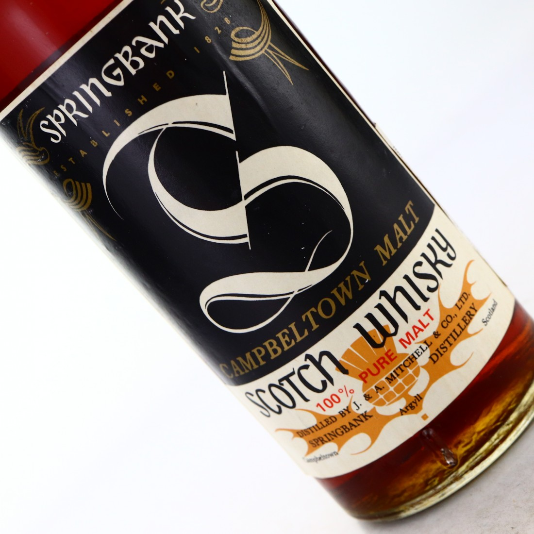 Springbank 10 Year Old Cask Strength Sherry Wood 1970s / A. Sutti Import