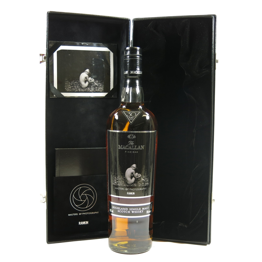 Macallan 30 Year Old Masters of Photography Rankin Edition Back