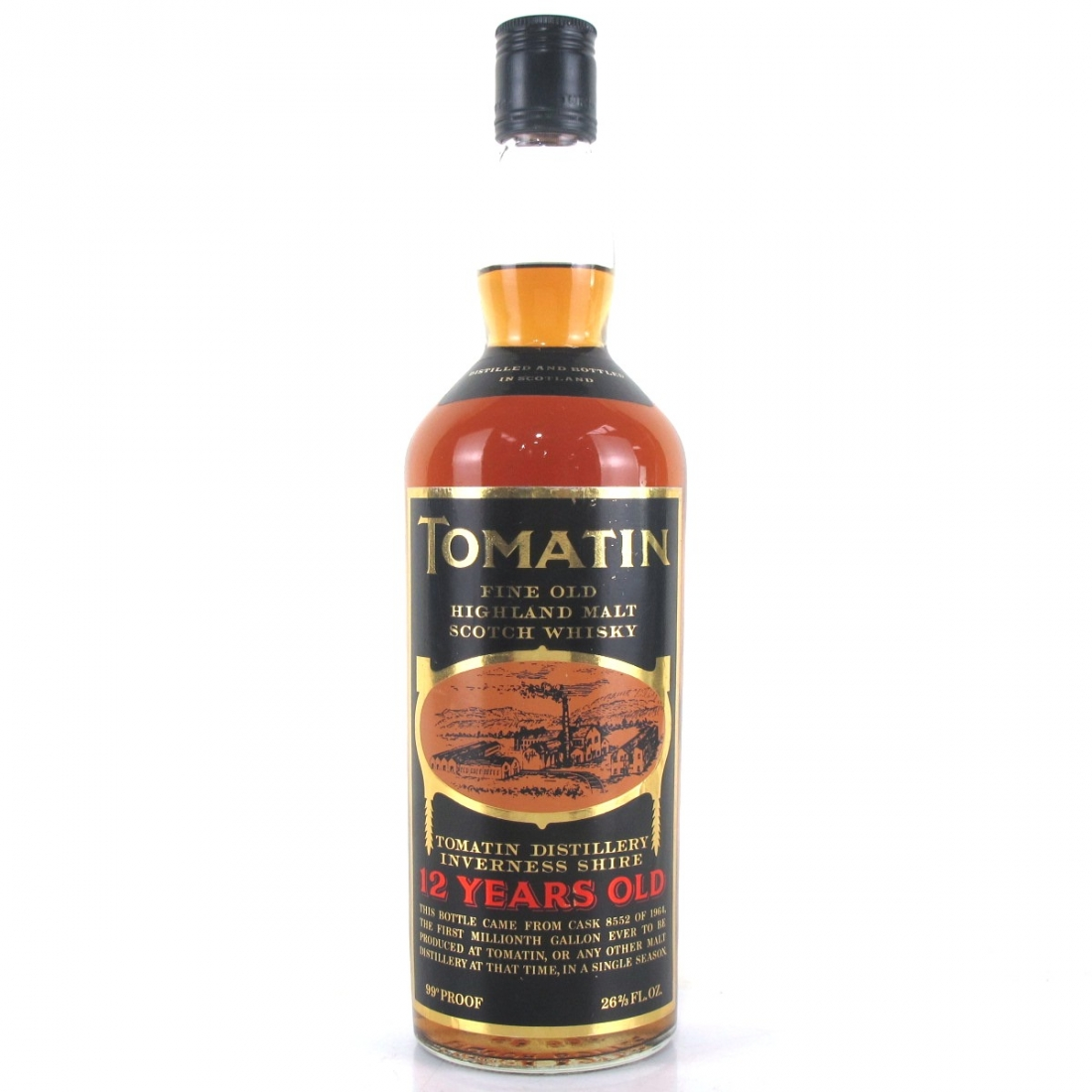Tomatin 1964 Single Cask 12 Year Old #8552 / First Millionth Gallon
