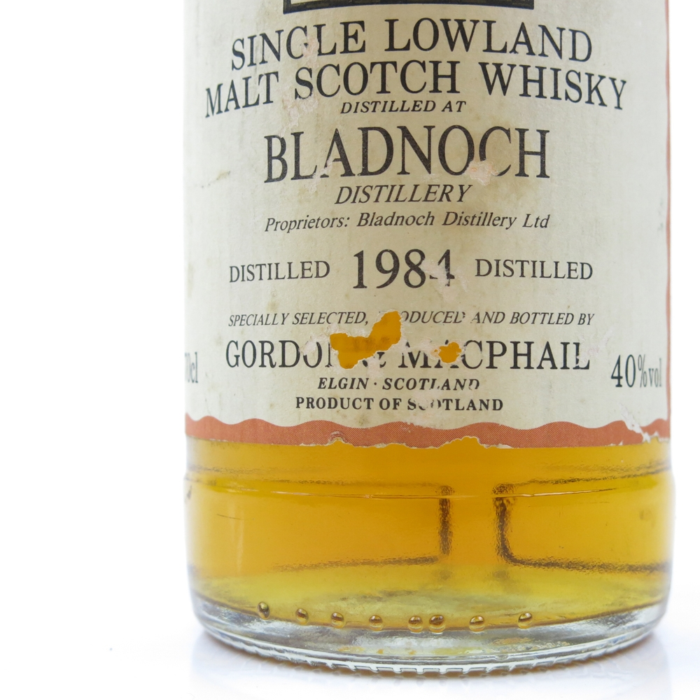 Bladnoch 1984 Gordon and MacPhail