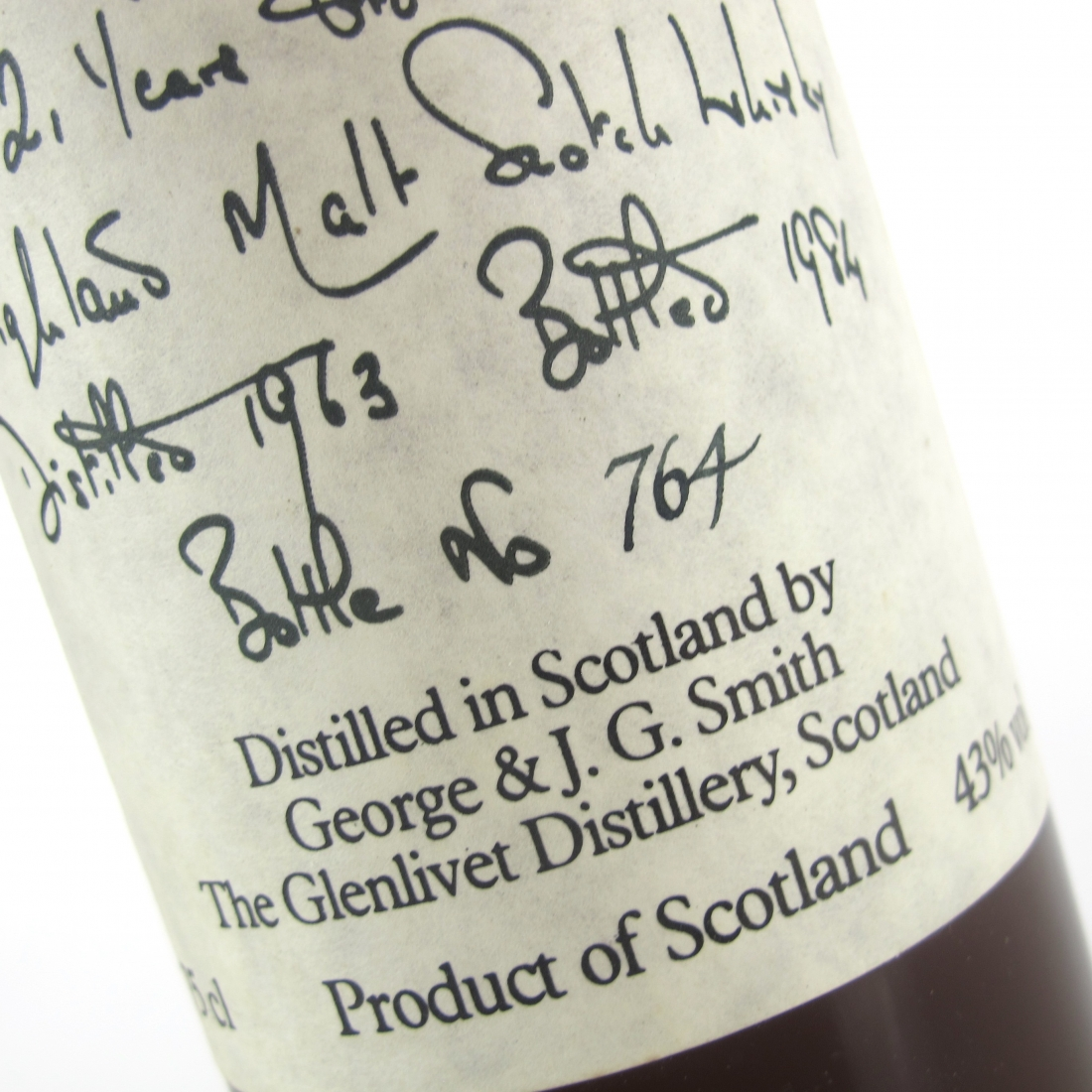 Glenlivet 1963 For the Chairman 21 Year Old