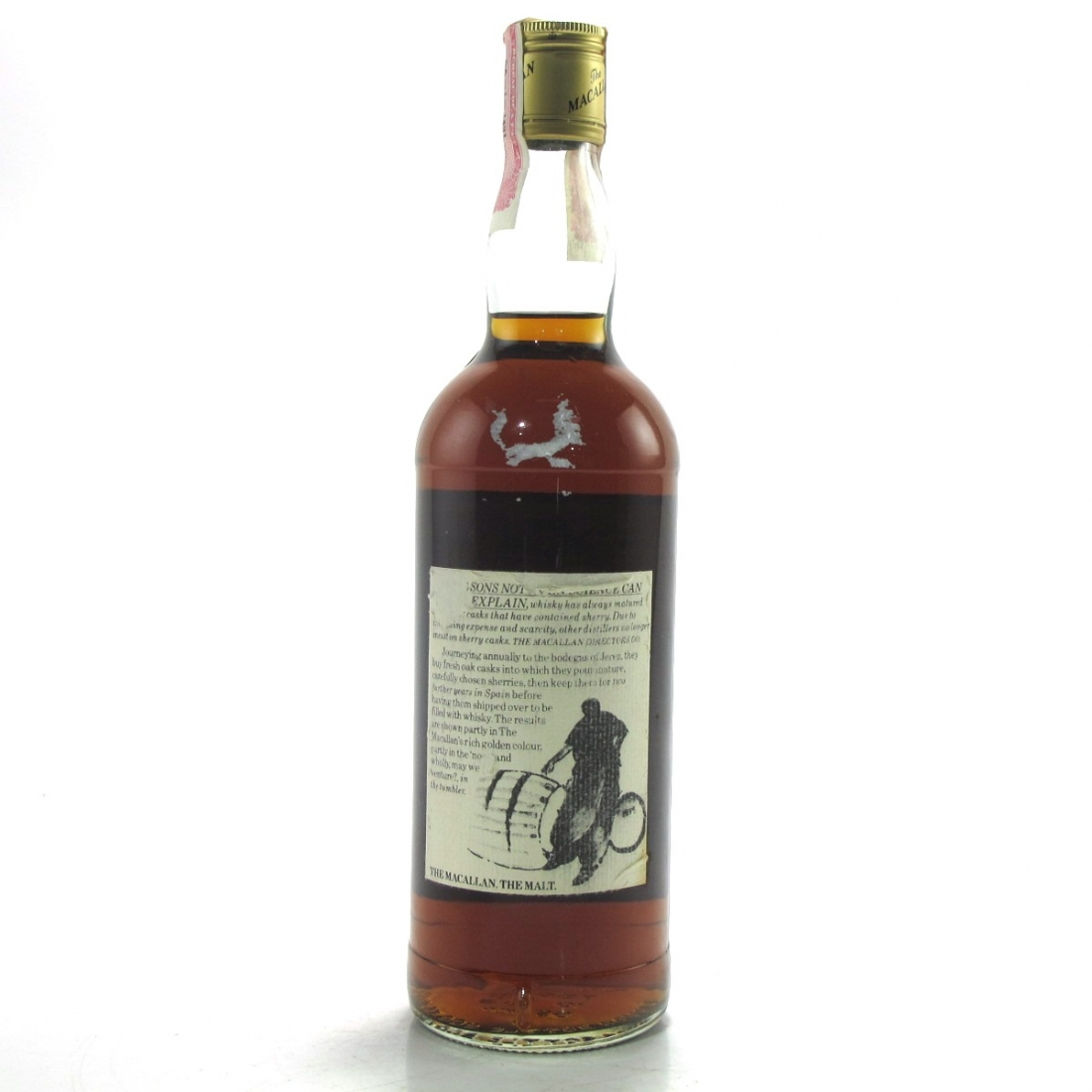Macallan 12 Year Old 1980s / US Import