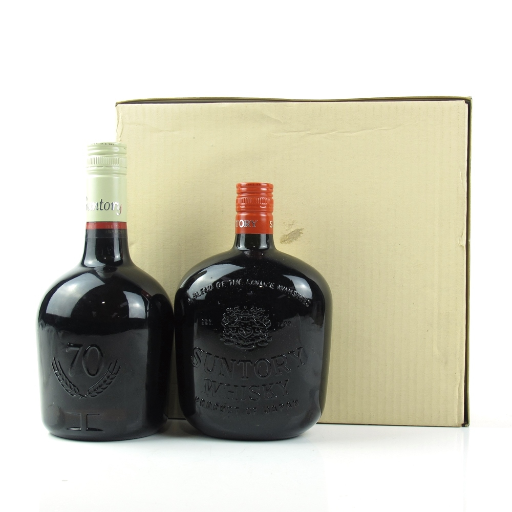 Suntory Special Reserve and Suntory Old / Gift Set 1980s
