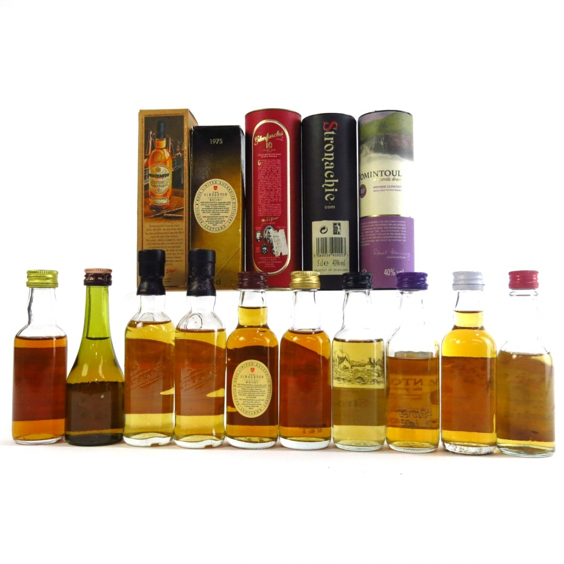 Speyside Miniature Selection 10 x 5cl