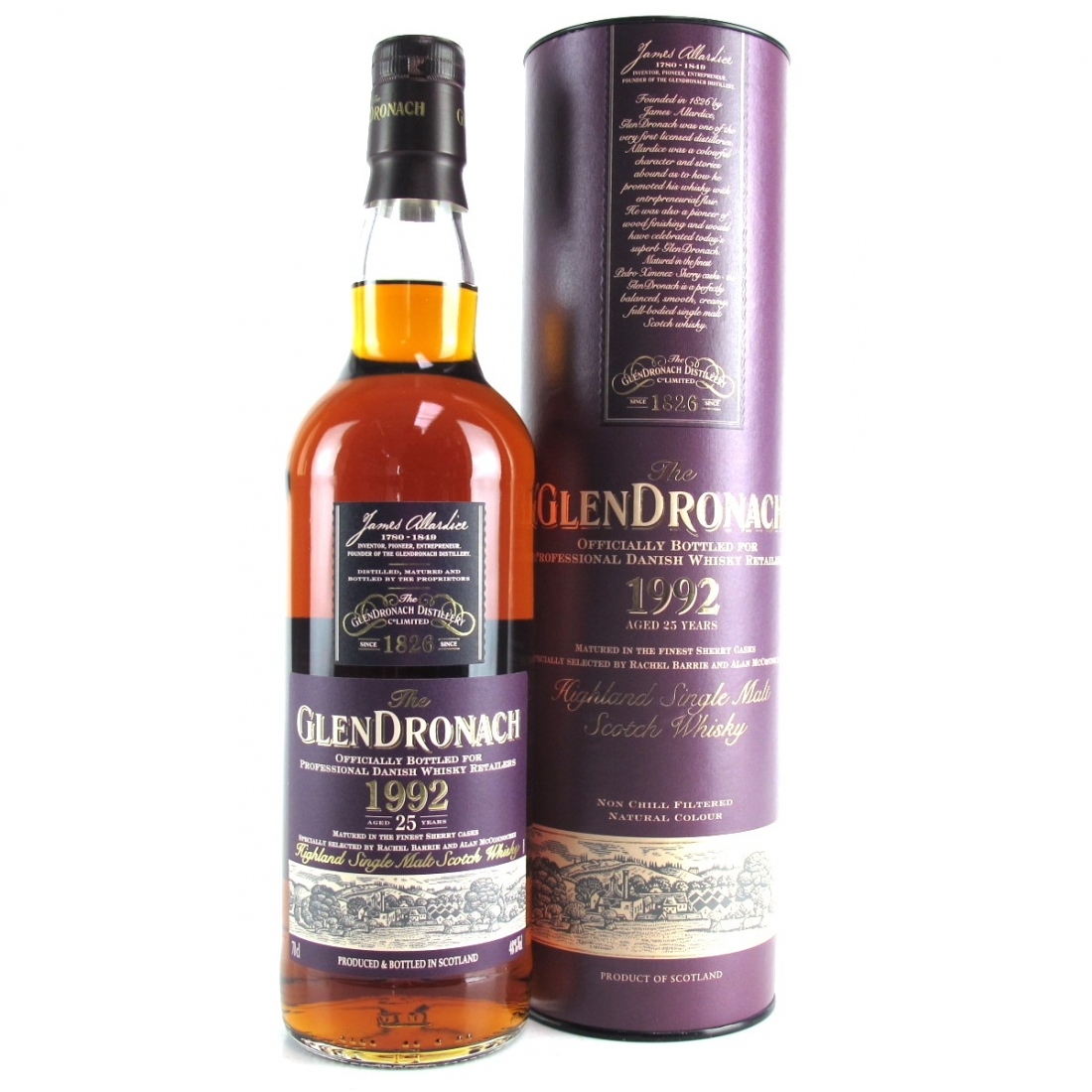 Glendronach 1992 Sherry Cask 25 Year Old / Danish Retail Exclusive