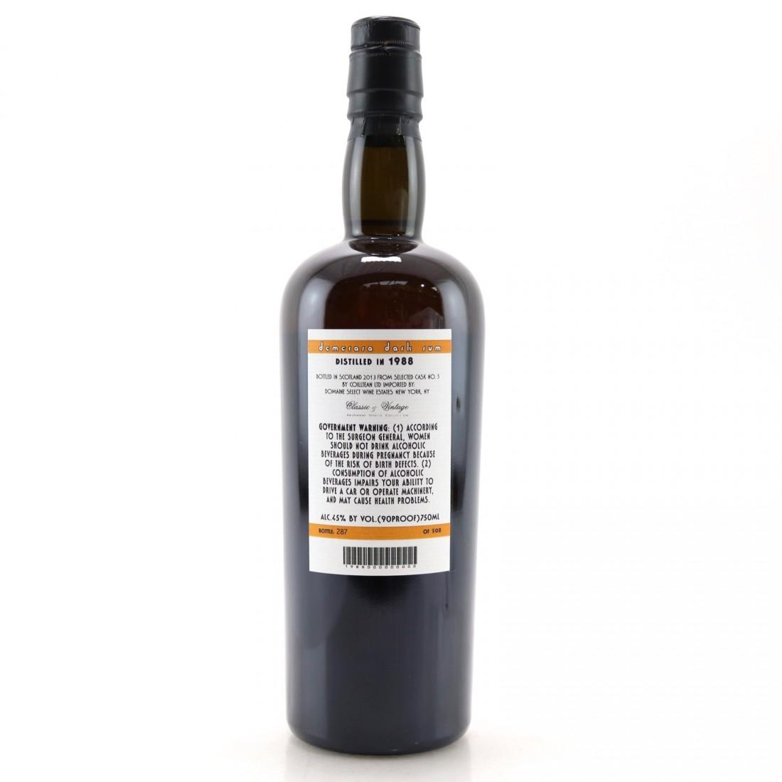 Demerara Dark Rum 1988 Samaroli Single Cask 75cl / US Import