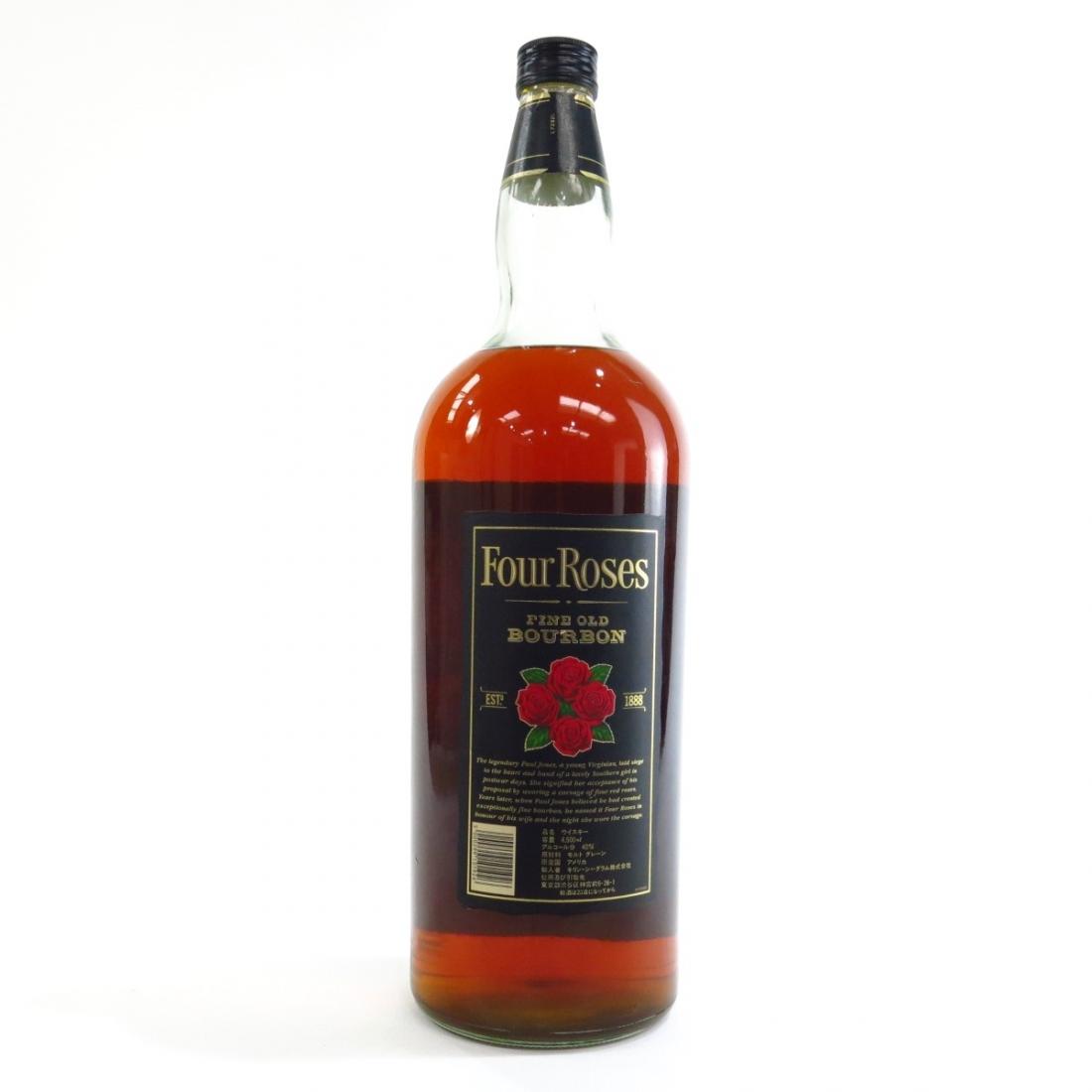 Four Roses Kentucky Straight Bourbon 4.5 Litre / Japanese Import