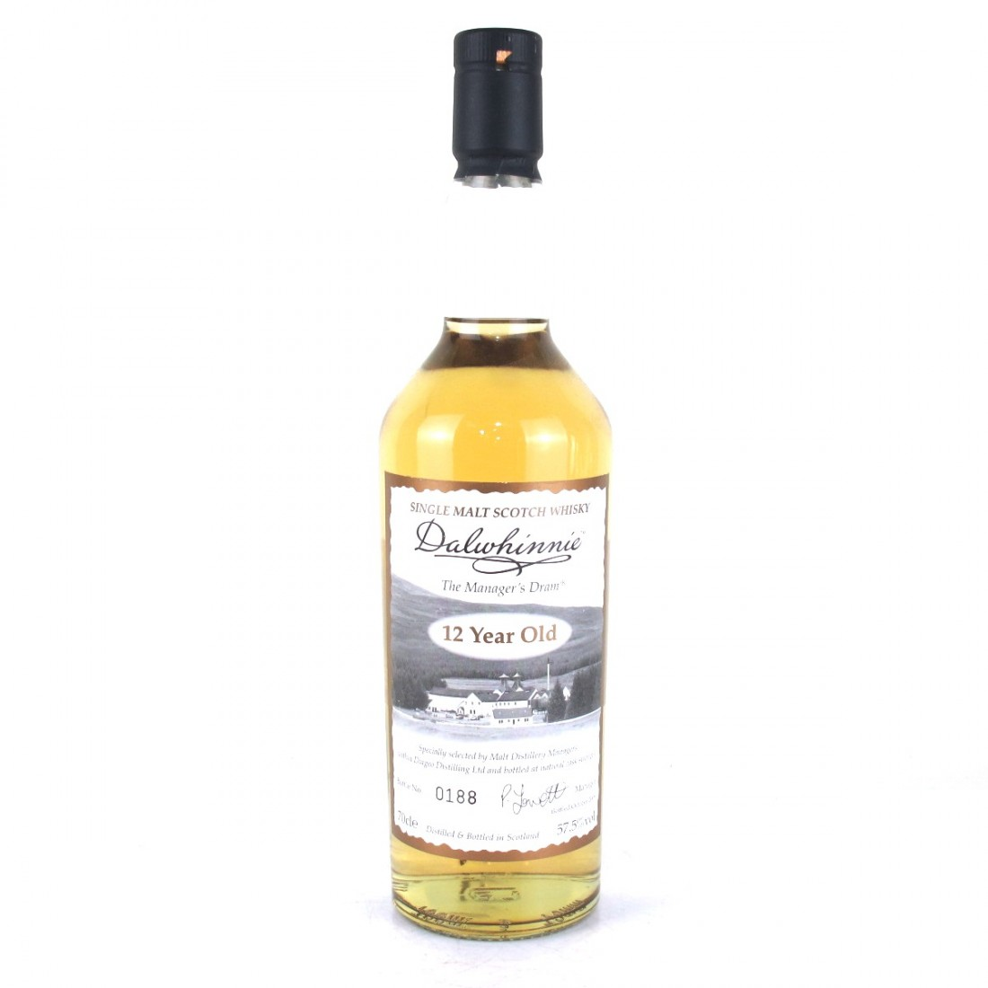Dalwhinnie 12 Year Old Manager's Dram 2009
