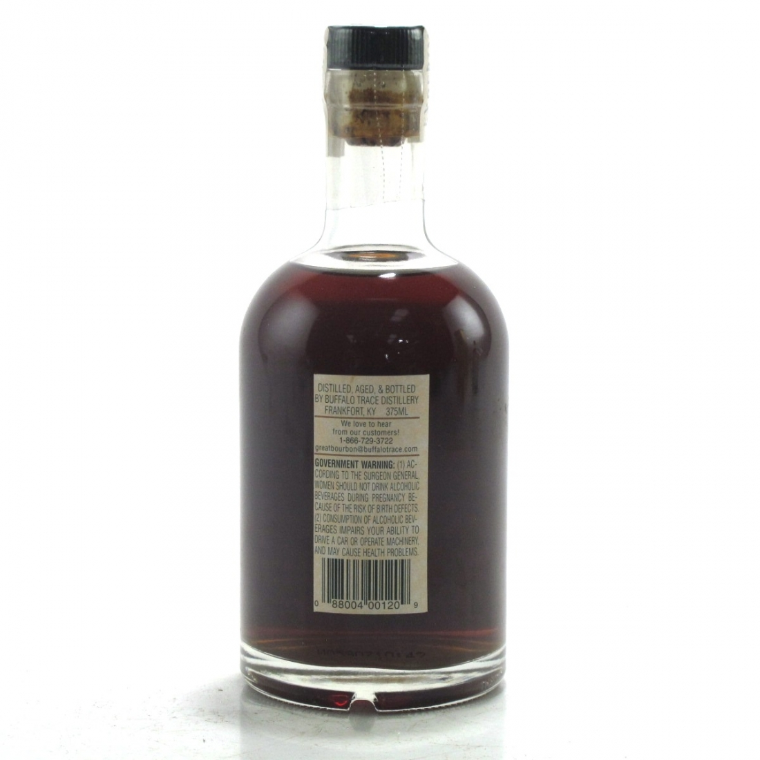Buffalo Trace 1988 Experimental Collection 14 Year Old 37.5cl / 6 Year Zinfandel Finish