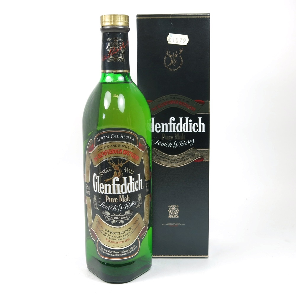 Glenfiddich Special Old Reserve 1980s