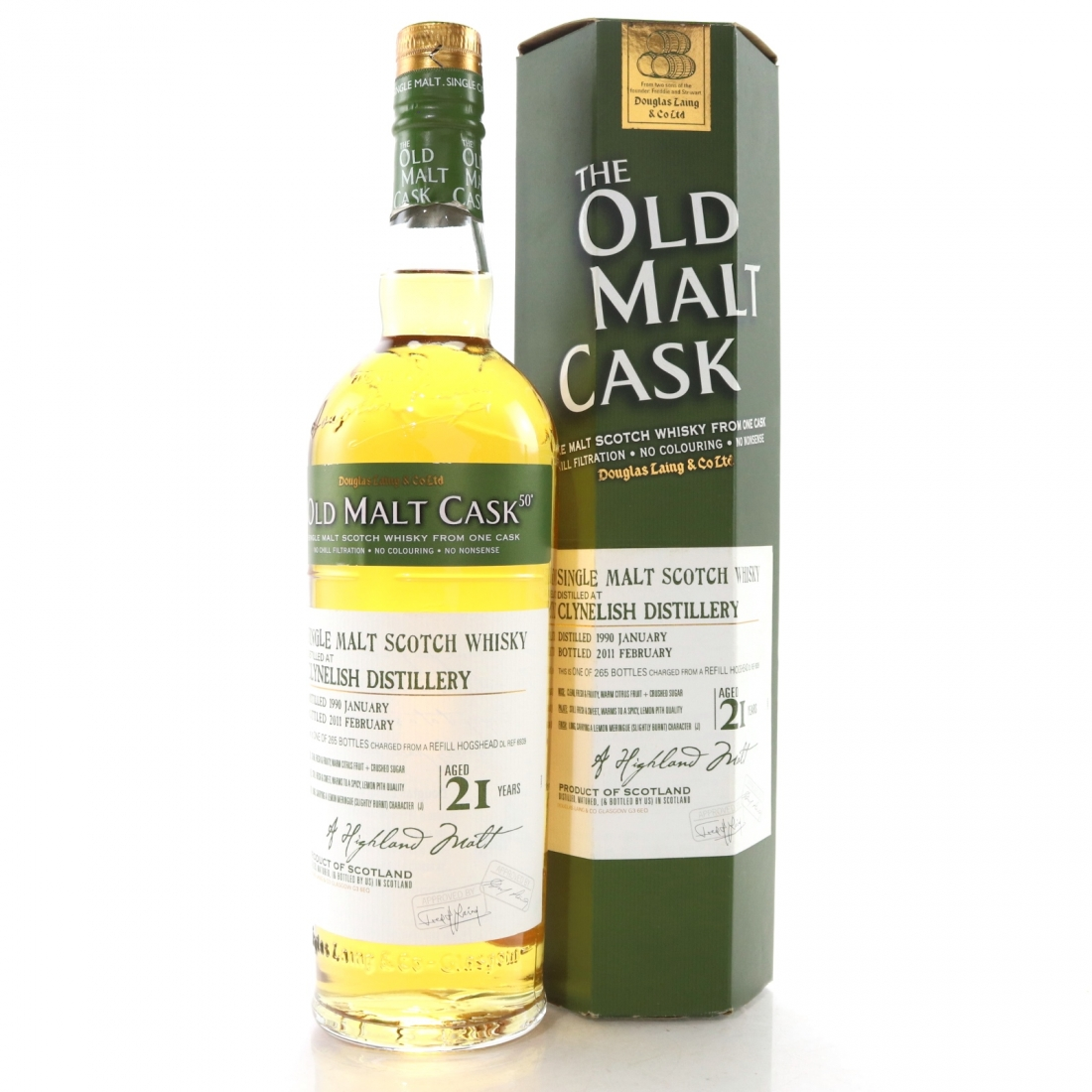 Clynelish 1990 Douglas Laing 21 Year Old