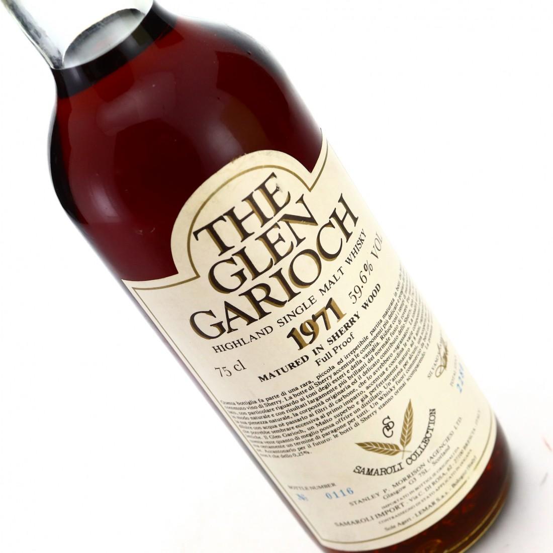 Glen Garioch 1971 Samaroli Collection Sherry Wood Full Proof