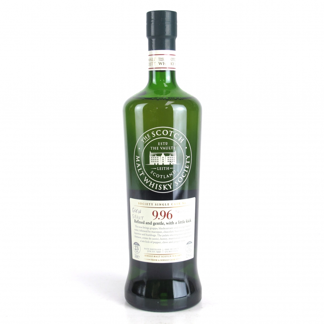 Glen Grant 1990 SMWS 23 Year Old 9.96