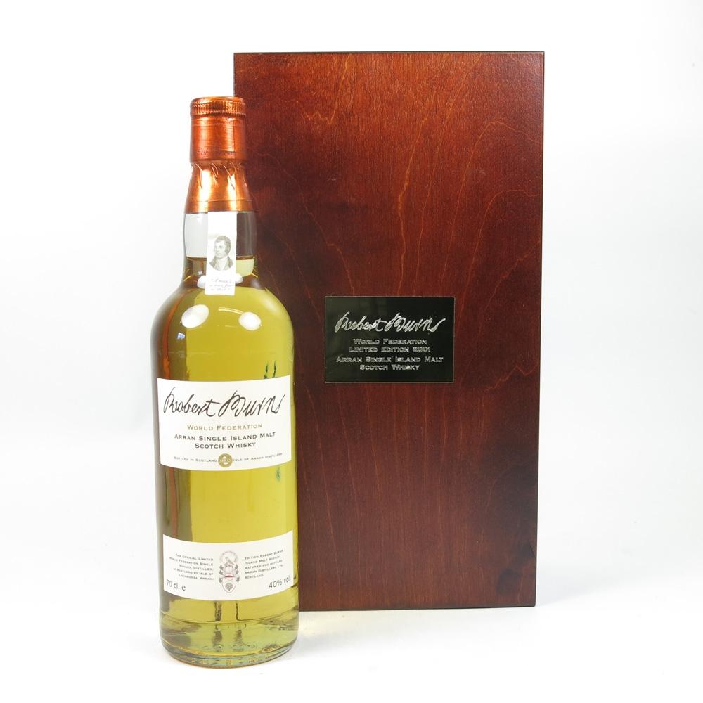 Robert Burns Single Malt Limited Edition 2001