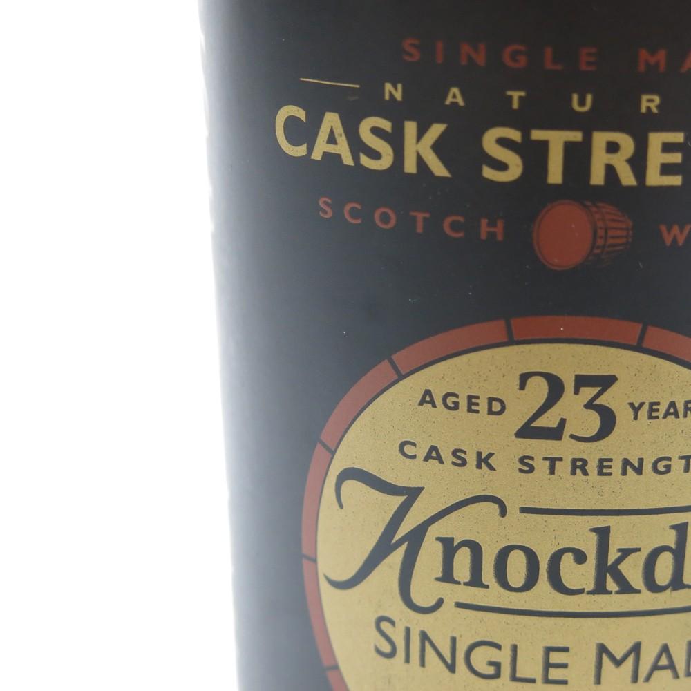 Knockdhu 23 Year Old Cask Strength