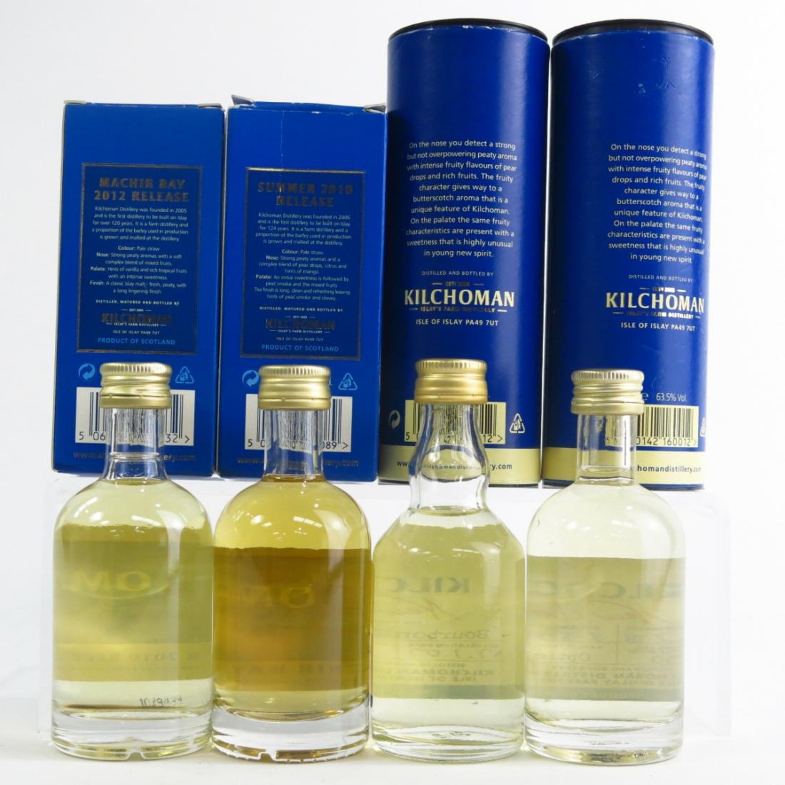 Kilchoman Miniature Selection 4 x 5cl