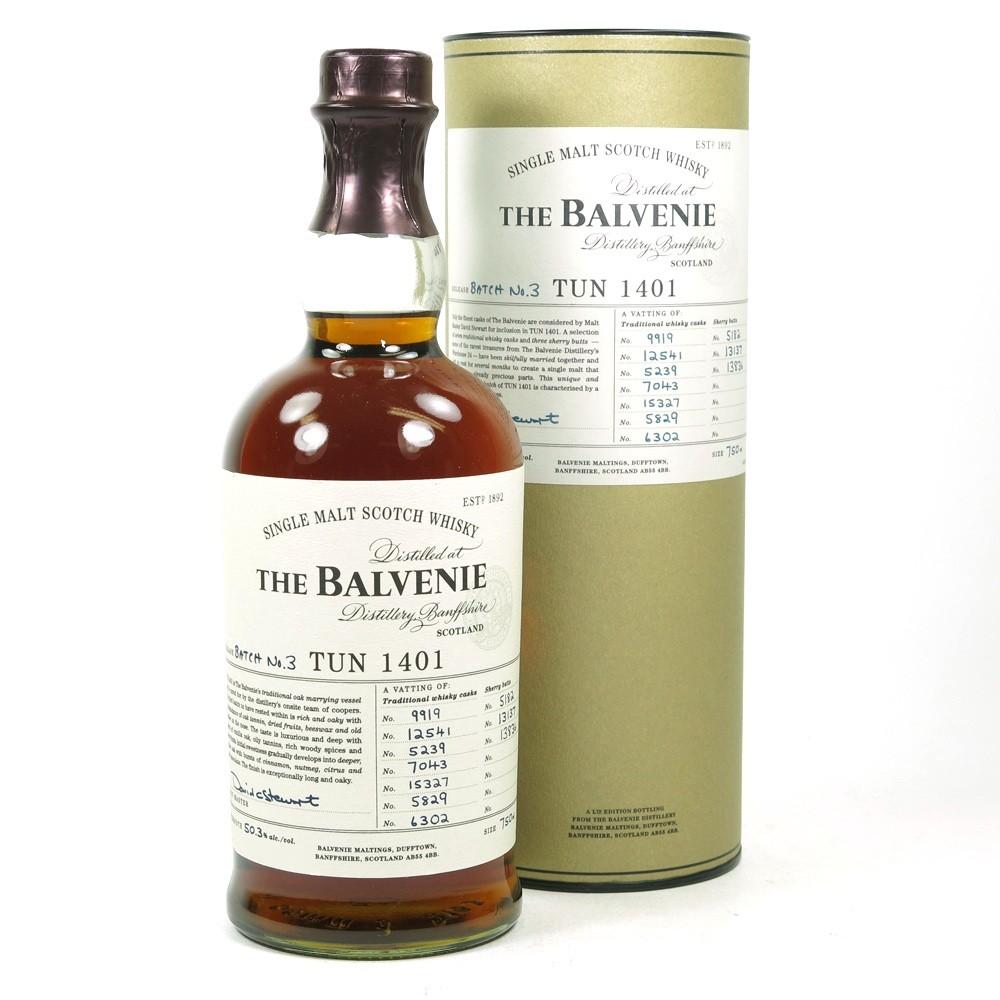 Balvenie Tun 1401 Batch #3 75cl / US Exclusive