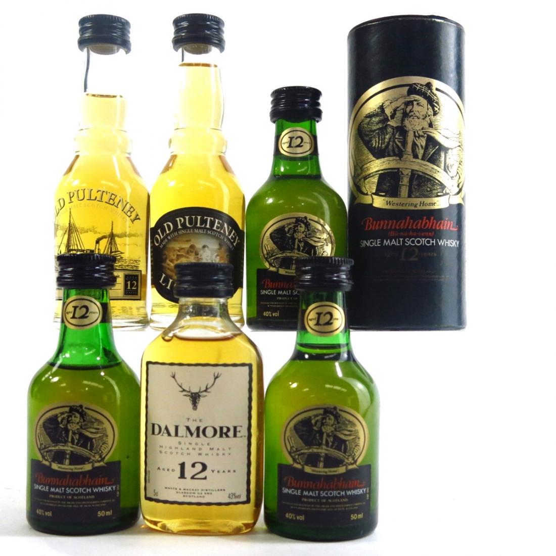 Highland & Islay Miniature Selection 6 x 5cl