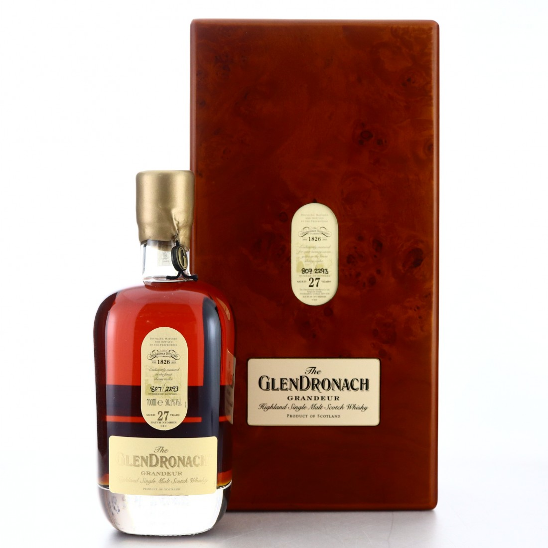 Glendronach Grandeur 27 Year Old Batch #010