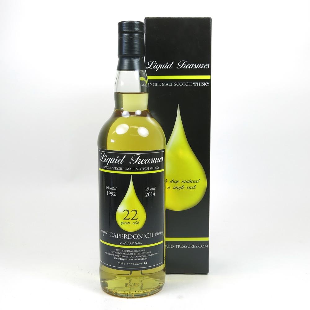 Caperdonich 1992 Liquid Treasures 22 Year Old Front