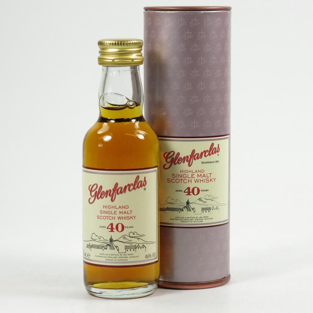 Glenfarclas 40 Year Old Miniature 5cl