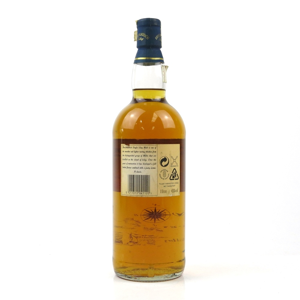 Bruichladdich 10 Year Old 1 Litre 1990s