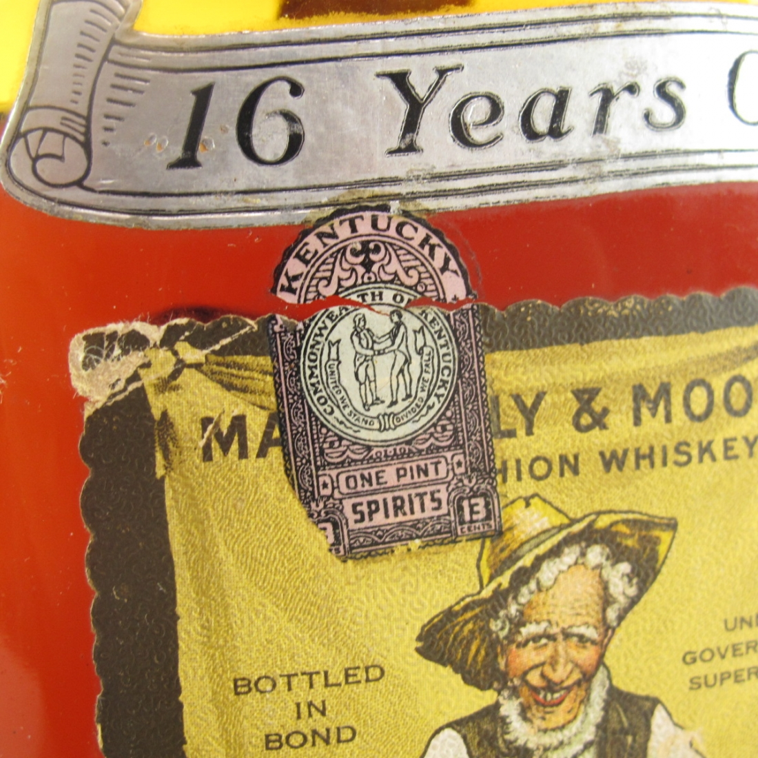 H.S. Barton 1917 Mattingly and Moore 16 Year Old / Prohibition Era Bottling