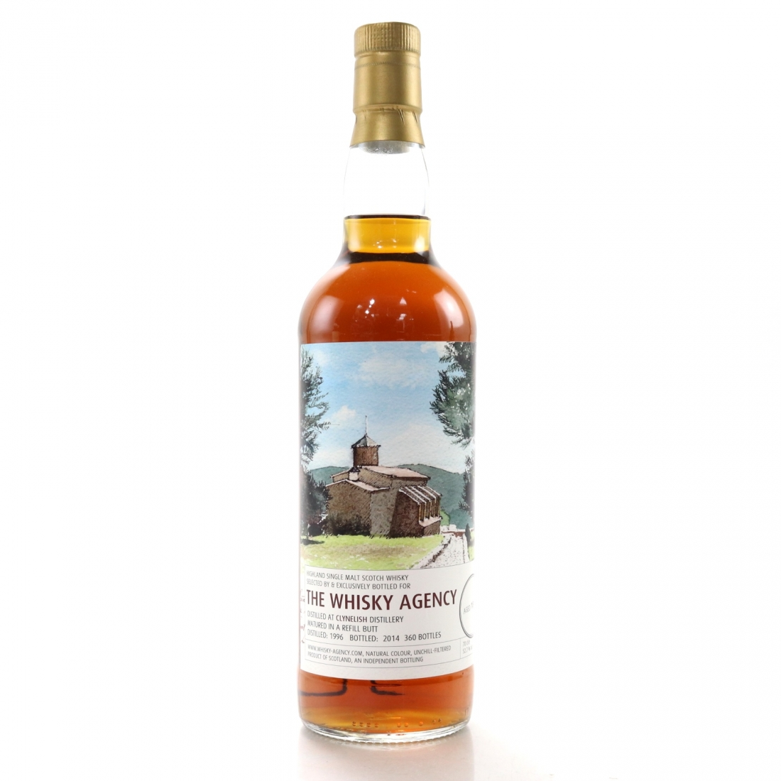 Clynelish 1996 Whisky Agency 18 Year Old