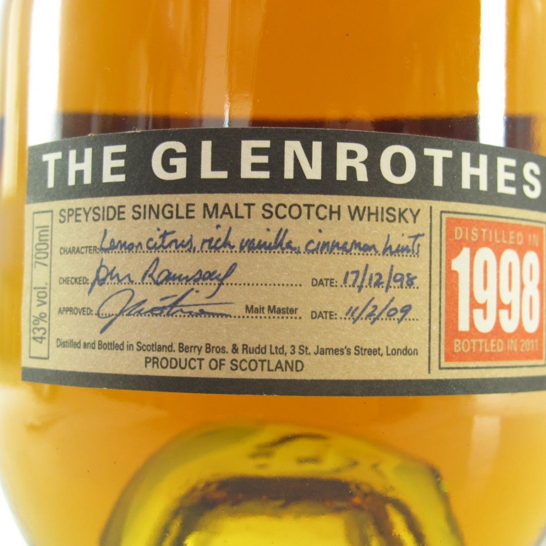 Glenrothes 1998 Vintage