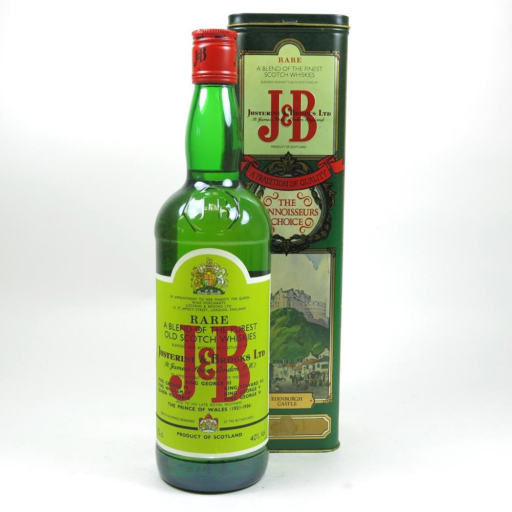J&B Rare / Historic Places Tin Front